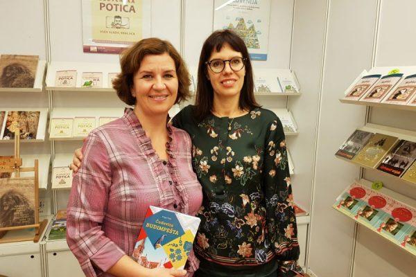 Čudovita Budimpešta z avtorico Kingo Tittel na knjižnem sejmu 2018