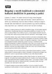Slovenska potica in Kulturna dedišcina STA 5.10.18