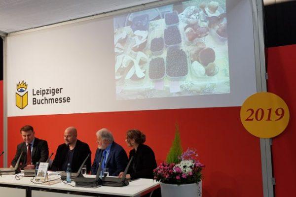 Slowenien Kulturerbe predstavitev na knjižnem sejmu v Leipzigu 2019